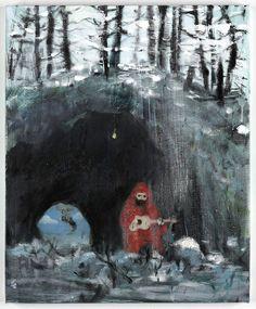 Daniel Richter  Ohne Titel  2009  Oil on canvas  55 x 45 cm