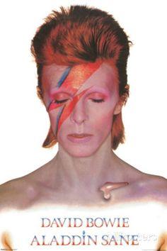 David Bowie- Aladdin Sane Poster