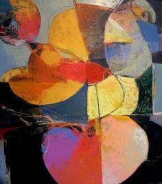 """SEED"", ACRYLIC ON BOARD, 2013.  BY RON GORDON"