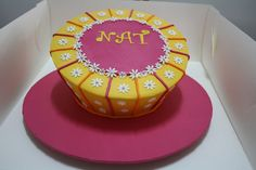 Nat's birthday cake, via Flickr.