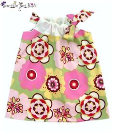 Simply Spring... Sweet and Sassy Spring, Summer, Easter Dress by Snuggle Bug Kidz