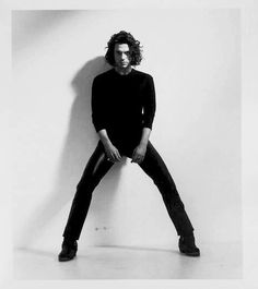 Michael Hutchence. Found on INXS official FB.