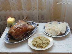 Dusená kačka s knedľou a kapustou (fotorecept) - Recept