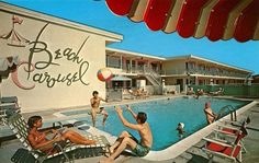 Would love to run a small vintage motel, something like this!