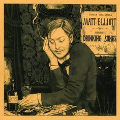 Matt Elliott - Drinking Songs, Grey