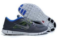 new styles bb521 06ac3 Nike Free Run 3 Running Shoe Dark Grey Reflective Silver-Volt-Ro Free