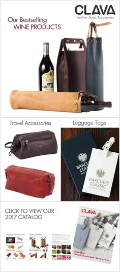 Present Clava Leather Goods and make a lasting impression.