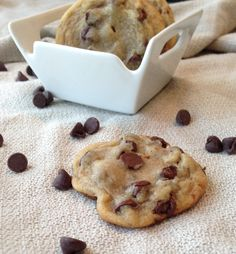 I have a weakness for chocolate chip cookies. It's a serious problem. I already have my absolute favorite but can you ever have enough chocolate chip cookie recipes? That was a rhetorical question....