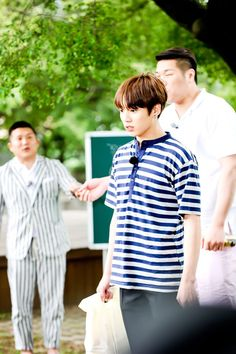 [Picture] BTS Jungkook on Flower Crew [160715]