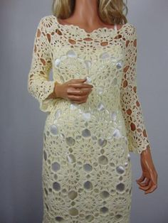 Crochet Wedding Dress Pattern, Crochet Wedding Dresses, Lace Summer Dresses, Black Crochet Dress, Wedding Dress Patterns, Doll Dress Patterns, Lace Dress, Baby Dress Tutorials, Crochet Shirt