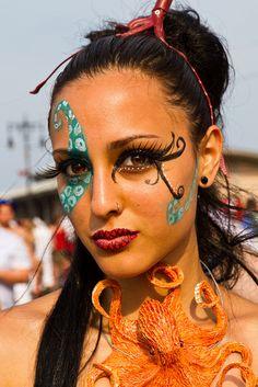 Coney Island Mermaid Parade, 2011. NYC.