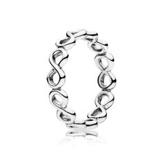 e5a98a75e PANDORA's ring collection features fine silver and gold bands with  intricate details and gemstone accents.