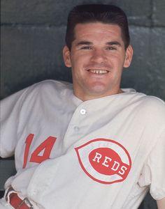 Pete Rose, Cincinnati Reds, 1968 http://sfbayhomes.com