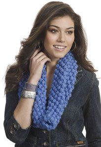 Blackberry Knit Cowl