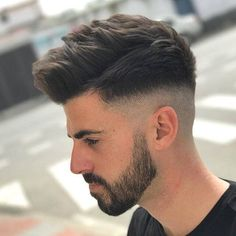 Trendy Undercut Hair Ideas for Men In Are you looking for different hairstyles or new hair ideas to try? Here is the gallery of simple and classic hairstyles which continues to be a trendi. Mens Summer Hairstyles, Mens Hairstyles Fade, Cool Hairstyles For Men, Classic Hairstyles, Undercut Hairstyles, Haircuts For Men, Popular Haircuts, Undercut Hair Men, Quiff Haircut