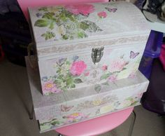 flutter and sparkle: Pretty new storage boxes from TK Maxx