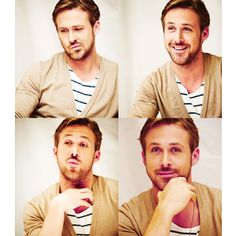 Ryan Gosling. Proof to my husband that he can still wear a cardigan and be effable to women everywhere.
