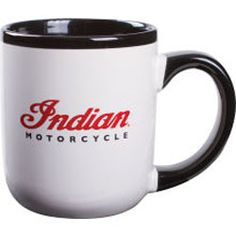 This ceramic mug features the Indian Motorcycle® logo. Show your Indian Motorcycle® spirit at home or work. Set of 4.