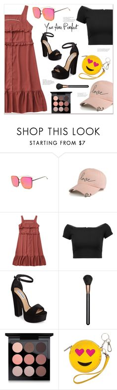 """""""ootd"""" by mycherryblossom ❤ liked on Polyvore featuring Alice + Olivia, Steve Madden and MAC Cosmetics"""