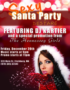 Sexy Santa Party for Destare