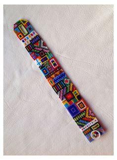 Loom Bracelet Patterns, Seed Bead Patterns, Bead Loom Bracelets, Beading Patterns, Beading Ideas, Jewelry Patterns, Seed Bead Jewelry, Beaded Jewelry, Seed Beads