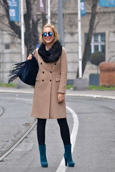 Camel coat is a MUST for winter, something you need and it is easy to mix it with other outfit items. . Beige is a classic colour during the winter season and f