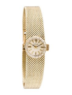 Rolex 14K Chameleon Watch
