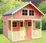 When I was just 5 years old my Dad built me an Outdoor Playhouse and surprised me with it.  Inside it was totally furnished.  It was a little girls dream come true.  It was beautiful!