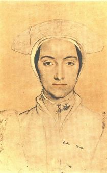 Anne of Cleves Hans Holbein.   I think she was the prettiest by today's standard
