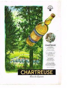 Le Monastère et la Chartreuse, Reine des Liqueurs