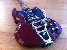 Gibson SG Special with Bigsby Tremolo