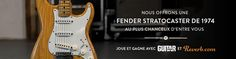 Sign up and win the Concours Matos: Fender Stratocaster de 1974 on Reverb.com!