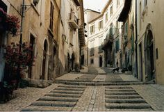 L'Aquila nel Abruzzo. I lived here for some time and it was a wonderful city with incredible people. It breaks my heart for the earthquake.