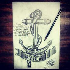 Tattoo art anchor - Âncora