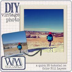 april 15 tip/trick – diy vintage photo