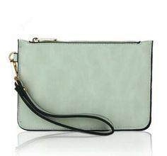 new Women bag portable casual envelope Clutch fashion handbag purse tote candy color ladies Pouch purse wristlet XD2894