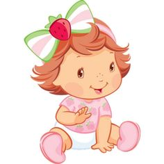 Festa Moranguinho Baby  Tudo Para Sua Festa Infantil Strawberry Shortcake Characters, Strawberry Shortcake Party, Muppet Babies, Baby Disney Characters, Penguin Images, Strawberry Baby, Baby Shower Clipart, Tween Girl Gifts, Baby Illustration