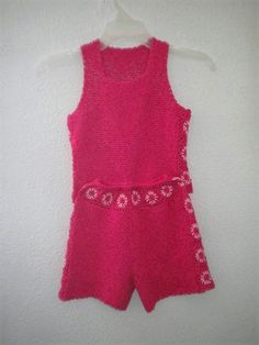 conjunto para jovencita a crochet en hilo de algodón