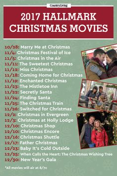 The Premiere Dates for Hallmark's 2017 Christmas Movies Are Here – New Year Marry Me At Christmas, Coming Home For Christmas, Christmas Train, Christmas Fun, Holiday Fun, Holiday Ideas, Christmas Dinners, Christmas Videos, Christmas Program