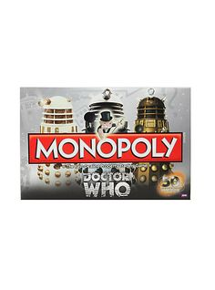 Doctor Who Monopoly 50th Anniversary Collector's Edition Board Game | Hot Topic