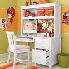 Great desk for a little girl's room!