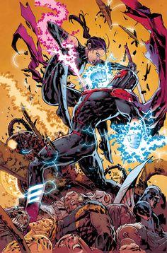 UNCANNY X-MEN #19Cuando dejó las filas de su equipo de X-Men, PSYLOCKE prometió que si MAGNETO salía de la línea, ella lo terminaría. • Y ahora, a la luz de los acontecimientos de INHUMANS VS. X-MEN, Psylocke va a cumplir esta promesa!