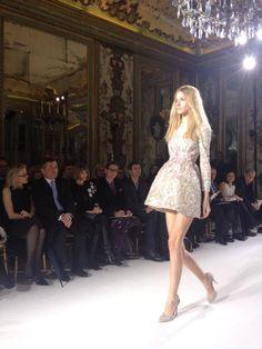 Twitter / AShulman2: Couture mini dress @BritishVogue ...