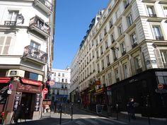 Montmartre in Paris, Île-de-France Rue Yvonne le Tac!