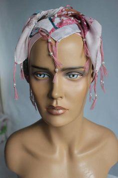 No Slip Headbands, Cotton Scarf, Surprise Gifts, Square Scarf, Head Wraps, Headpiece, Scarves, Art Studies, Bobs