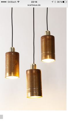 Rost Dose Lampe