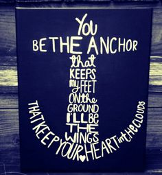 Anchors probably going to put this in my room when we paint it