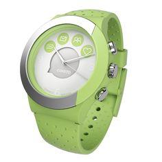 COGITO La esfera del reloj proporciona notificaciones discretas para mensajes de texto y correos electrónicos, así como los medios sociales como Facebook, Twitter, WhatsApp y Skype.