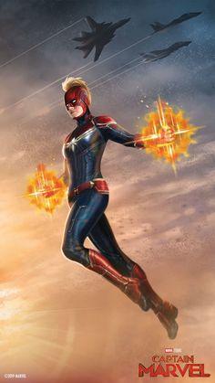 Marvel Studios' Captain Marvel Mobile Wallpapers