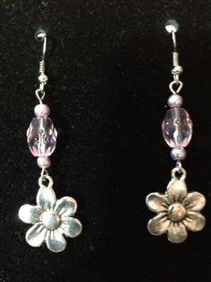 Pink and Lilac Flowers by queenofqeeks on Etsy, $8.00